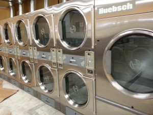 Coin operated dryers in Eddyville, KY. Aren't they pretty?