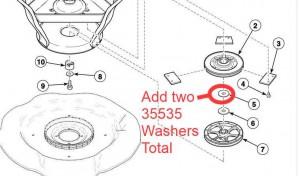 Extra washer