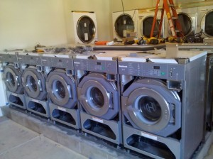 Another coin operated laundry machine installation. Brand new store here in Louisville, KY
