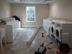 "Just another multi-housing laundry management installation! We are the best at the ""route"" laundry!"