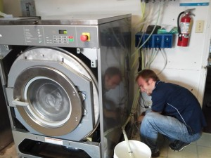 Do you need service on your commercial laundry equipment? Our factory technicians are the best!