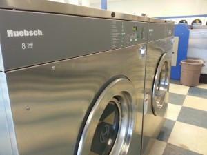 Pretty 80# washer extractors at Supercoin. Notice how modern and easy to use.